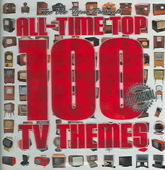ALL TIME TOP 100 TV THEMES (OST) (CD)